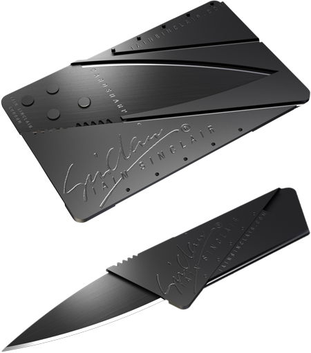 card_sharp CardSharp: the credit card that transforms into a knife
