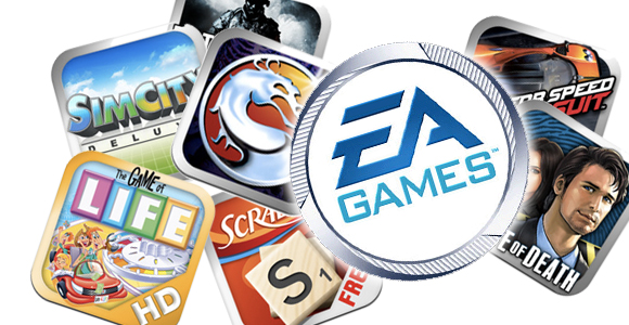 eagames-1  EA plans to release over 70 iOS games for under a buck