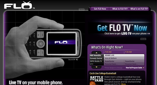 flo-tv  AT&T agrees to pay almost $2 billion for Qualcomm FLO TV spectrum
