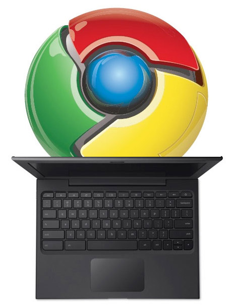googlechrome-cr48 Google's Chrome OS makes hardware indispensable
