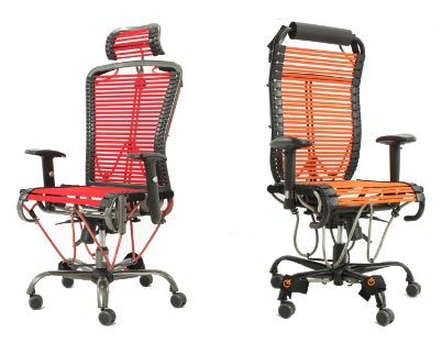 gymygym GymyGym office chair turned fitness center
