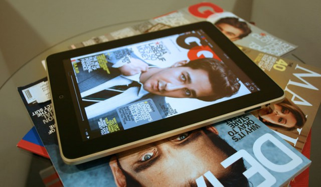 ipad-magazine-640x373 iPad magazine subscriptions on the decline