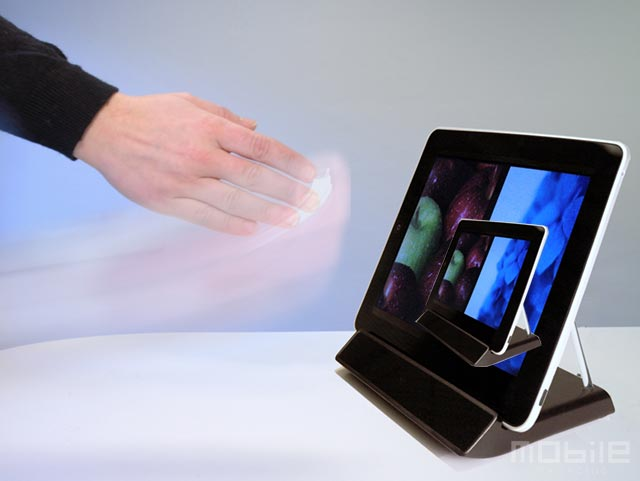 ipad-touchless-dock Kinect-like technology for iPad to wave through CES