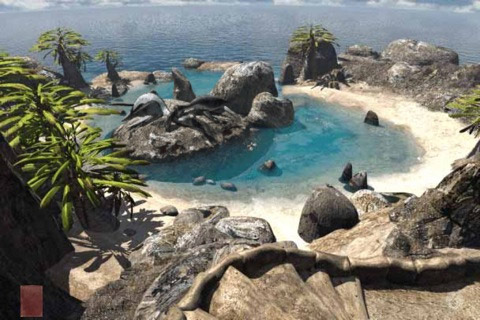 myst-scr-1 Riven, the Myst app sequel weighs in at a whopping 1GB