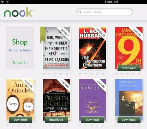 nook-library-300x263  Barnes & Noble letting users sell free books on the Nook?