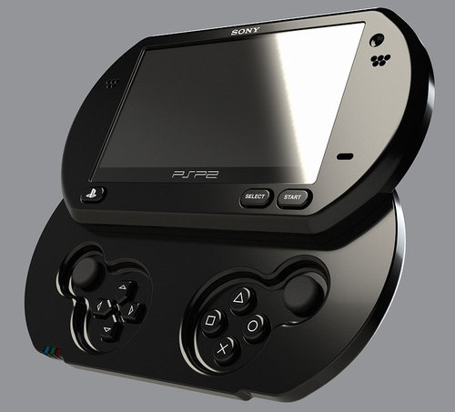 psp2 A face to the rumors: Will the PSP2 look like this?