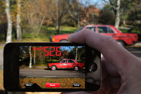speedclockapp-1 SpeedClock app makes your iPhone a radar gun