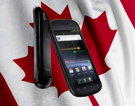 Canada_Nexus_S  Nexus S coming to Canada in March via Mobilicity, Rogers, Telus, Bell