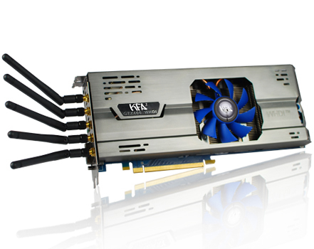KFA2-NVIDIA-GeForce-GTX-460 KFA2 Nvidia GeForce GTX460 graphics card is the world's first wireless GPU