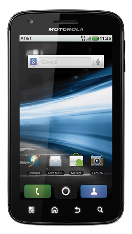 Motorola-Atrix-front Game Changer: Motorola Atrix 4G Android smartphone with laptop dock