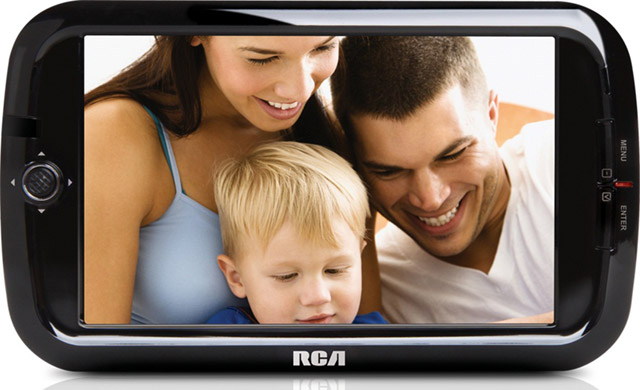 RCA_DMT270R-640 RCA first to release a true mobile TV experience