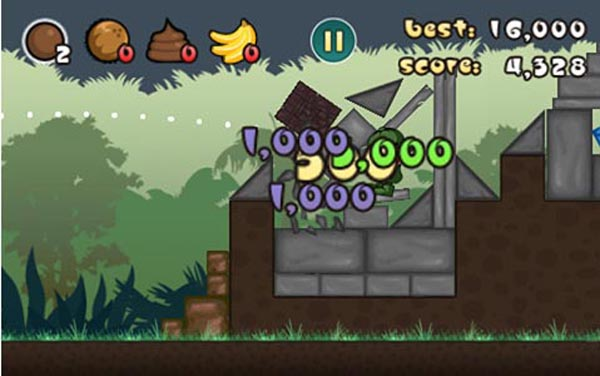 angryturds2  Angry Birds leaves trail for Angry Turds iPhone game