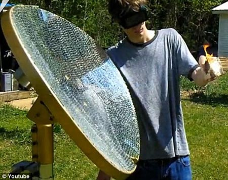 deathray Teen genius' solar-powered death ray vaporises anything (evil not included)