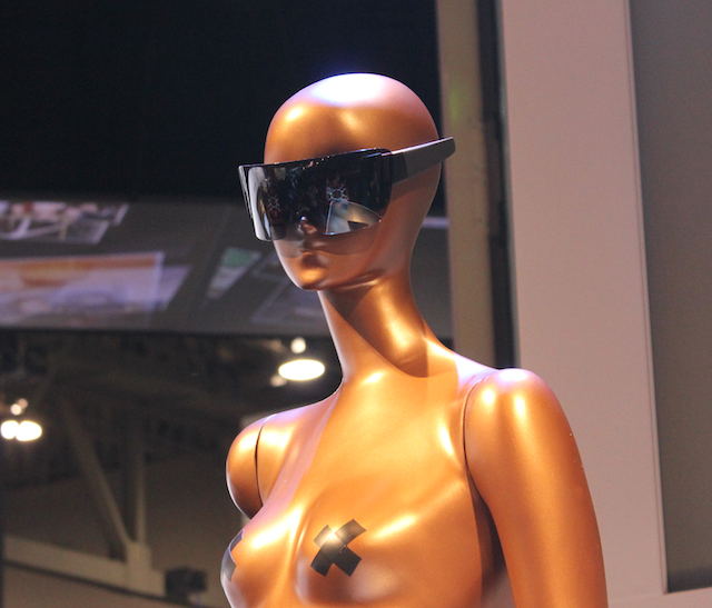 "gaga-glasses Gigantic Lady Gaga Polaroid sunglasses ""conceal"" camera within"