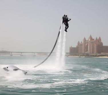 jetlev The Jetlev water-powered jetpack