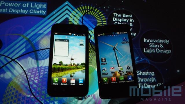 lg-optimus-2x-black-brightness Comparing the LG Optimus 2X to the LG Optimus Black with Nova Display