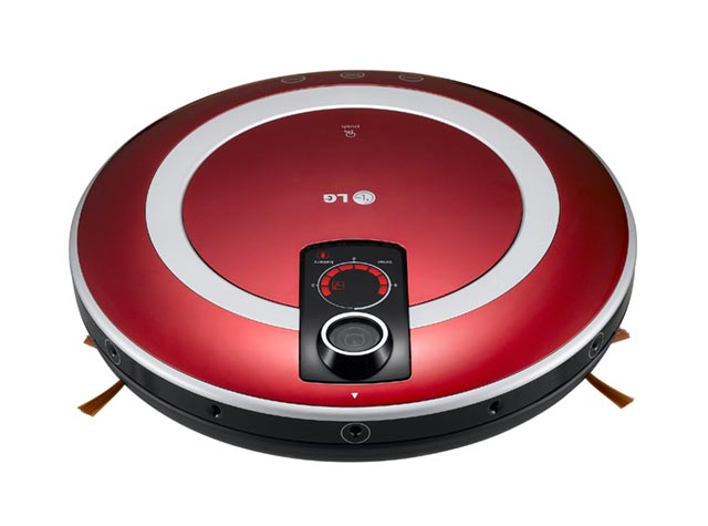 lg_robotic_vacuum LG robotic HOM-BOT vacuum Roomba clone is smarter than it looks