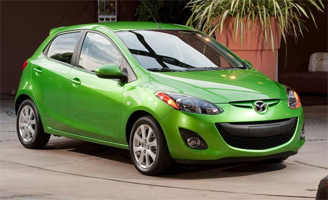 mazda2-ev Mazda2-based electric vehicle to compete with Nissan Leaf?