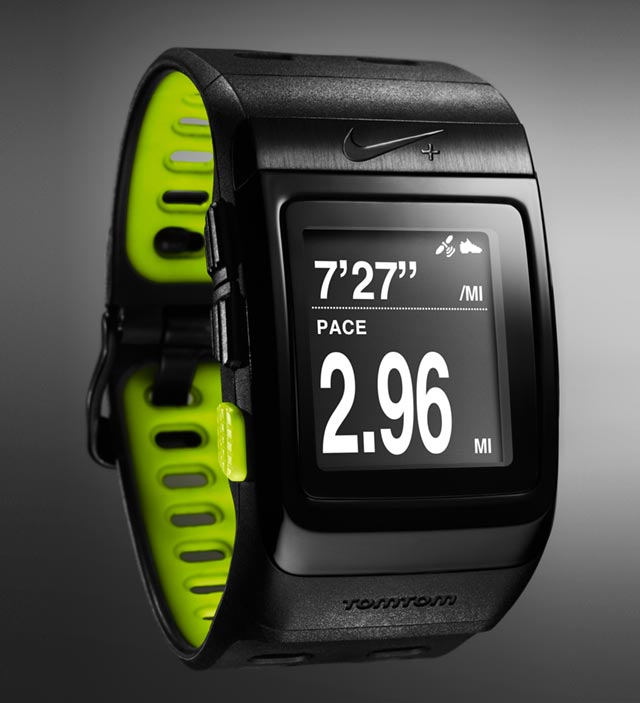 nike-sportwatch-front The Nike+ sportwatch GPS will nag you into shape