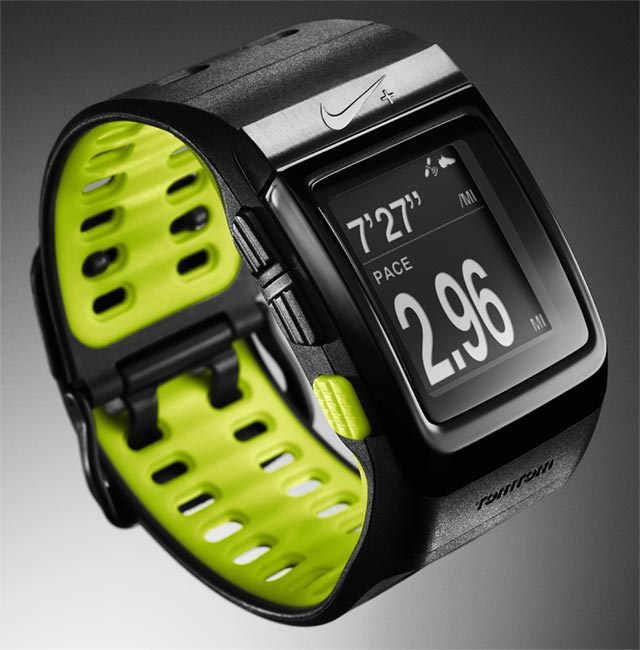 nike-sportwatch The Nike+ sportwatch GPS will nag you into shape