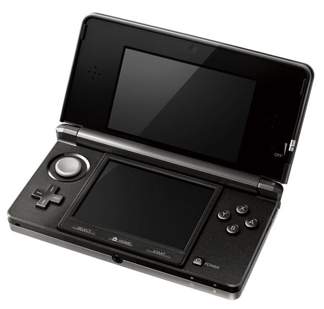 nintendo-3ds-black-1 Nintendo 3DS launch set: $250, March 27, universal friend codes
