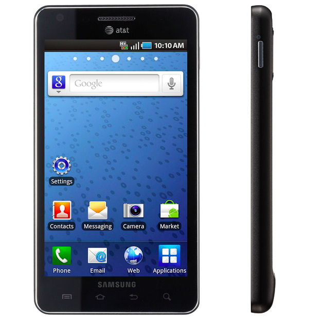 samsunginfuseside Samsung's Infuse 4G: Android infatuation