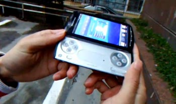 sony-psphone Video: PlayStation Phone (XPERIA Play) gets demo'd in real world