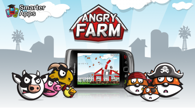 BlackBerry-AngryFarm-660x3661 Angry Farm For BlackBerry Rips Off  Angry Birds
