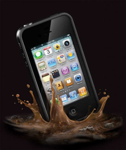 LifeProofCase-Splash-861x1024-538x640  LifeProof Case for iPhone 4 Offers Military Spec Ruggedness