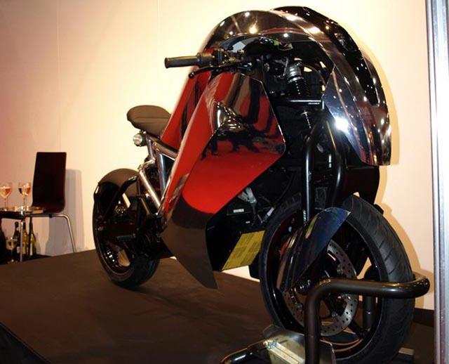 Saietta-12 Agility Global Saietta electric sports bike goes 0-60 in under 4 seconds
