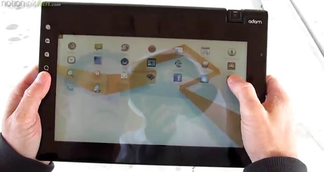 adam2  Extensive hands-on videos with Notion Ink Adam tablet