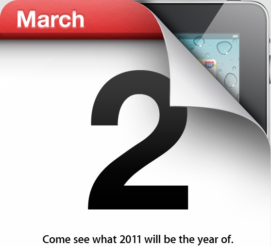 ipad21 iPad 2 Confirmed By Apple