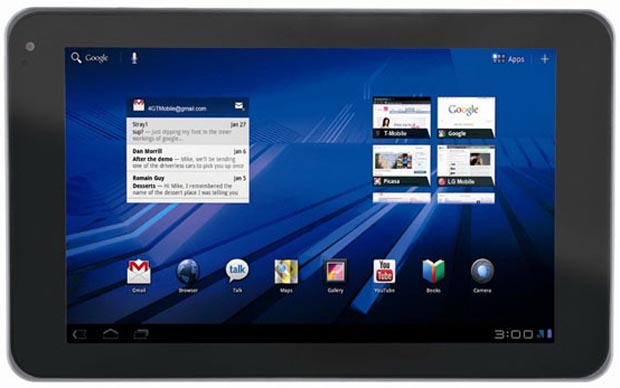 optimuspad  World version of T-Mobile G-Slate revealed as LG Optimus Pad