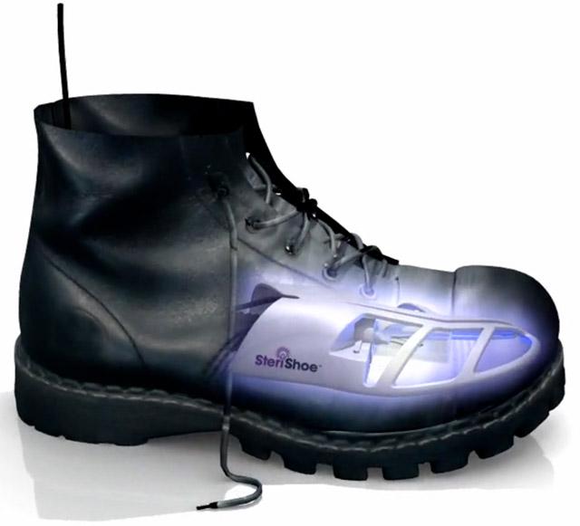 sterishoe SteriShoe zaps away shoe smells with UV