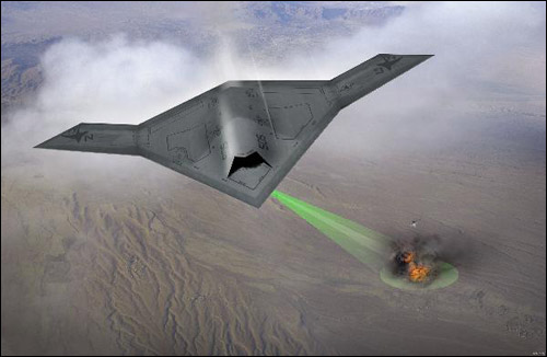 X-47B-bomber Northrop Grumman En Route to Unmanned Fighter Jets, Aerial Refuelling