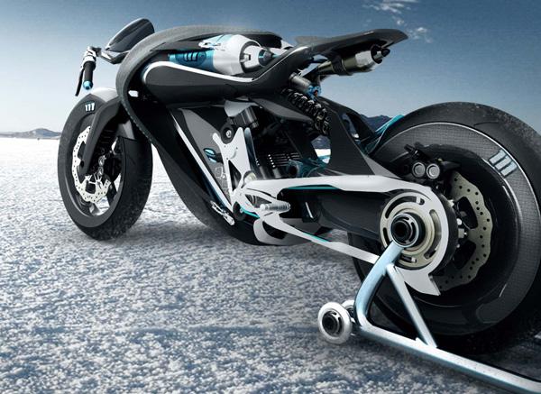 bird_01 French Designers Develop Air-Powered Saline Bird Motorcycle