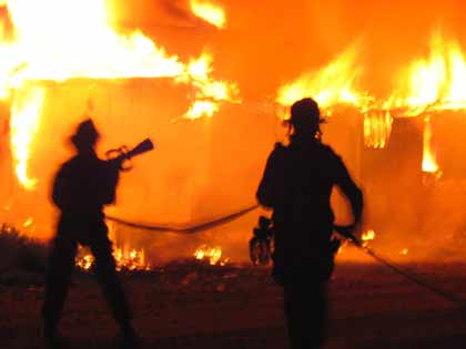 fire Fire-Fighters Could Extinguish Flames With Electricity Instead of Water