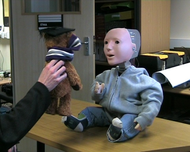 kaspar-640x512  Kaspar the Robot Developed for Autism Therapy Sessions