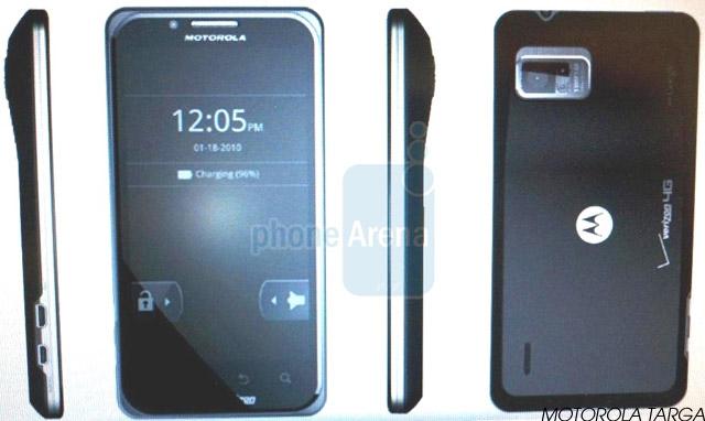 motorola-targa Leaked: Motorola Targa, Droid X2, Droid 3 Android Smartphones