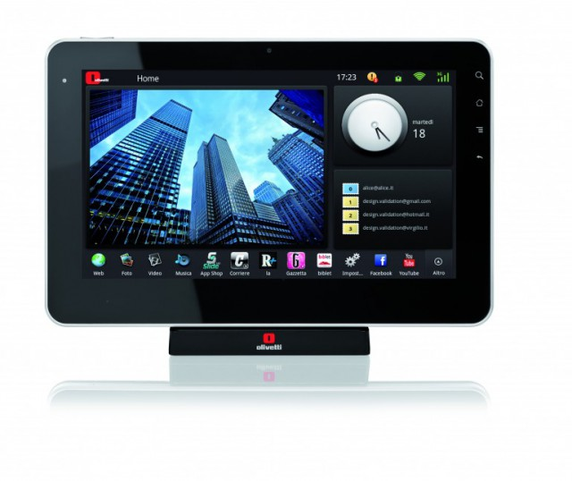 olipad-android-tablet1-640x538 Olivetti Releases Italy's First Android Tablet: The OliPad