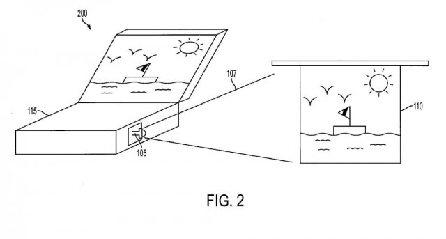 AppleProjector-640x343 Apple Pico Projector Patent uses Lasers: LaserBooks Coming Soon?