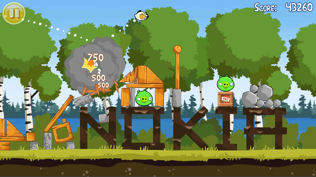 classic_free_s60_ss09 Angry Birds Magic Forces You to Find Nokia NFC Friends