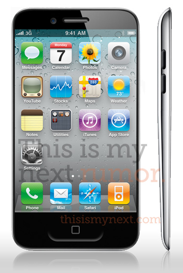iPhone5_mockup Latest Mockup of Upcoming Apple iPhone 5