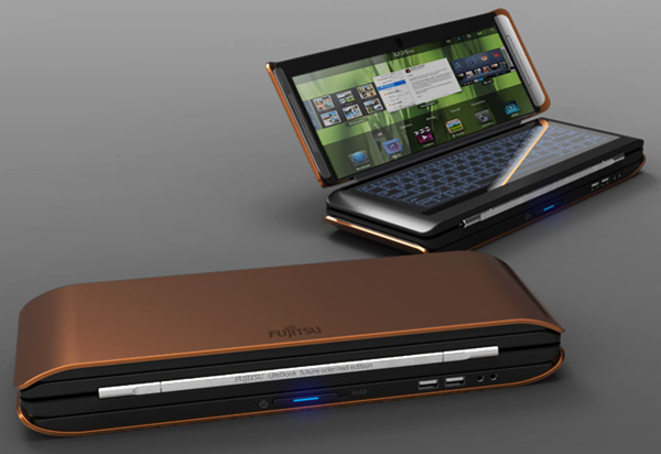 lifebook2  Fujitsu Lifebook X2 Concept Tri-Folds Your Tablet Duties