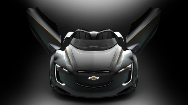 mi-ray-0-640x359  Chevy Mi-Ray Hybrid Roadster Concept from Seoul