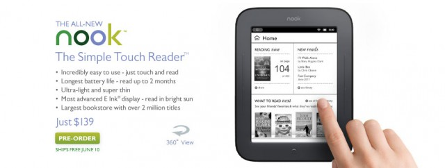 904x342_billboard_gossamer_d-640x242 $139 Barnes & Noble Nook Touchscreen Challenges Cheap Kindle