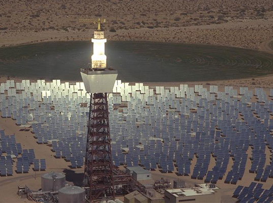 Rice-Solar-Project-CA-2 Molten Salt Could Provide Steady Solar Power Even at Night