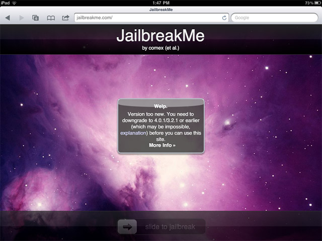 jailbreak-ipad2 Chronic Dev Promises iPad 2 Jailbreak 'in a Few Weeks'