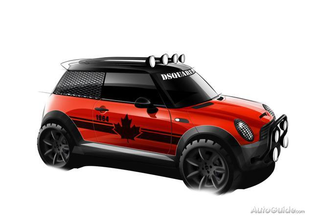 mini-mudder  Mini Red Mudder by DSquared Going to Charity