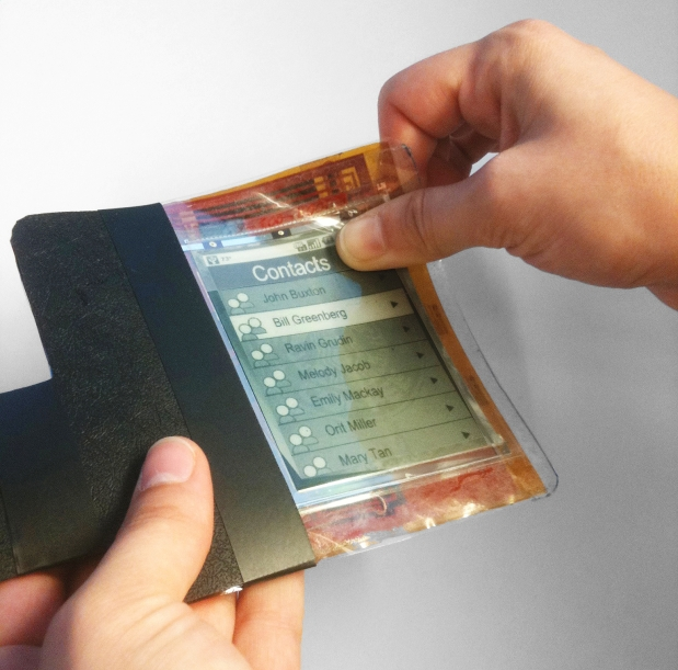 paperphone-concept Video: Paperphone Concept takes e-ink Technology to the next level